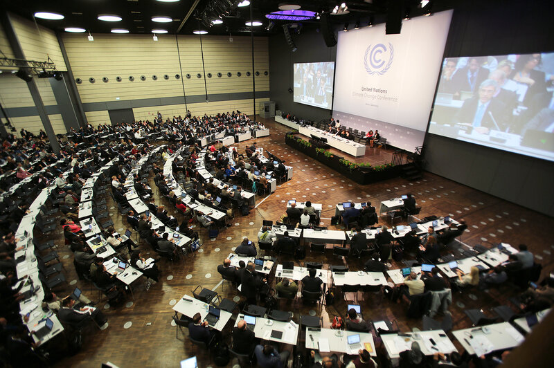 Imagine a bar without the booze. Delegates wrangling in Bonn, Germany, this week have to figure out soon how to cover the world's climate bill.