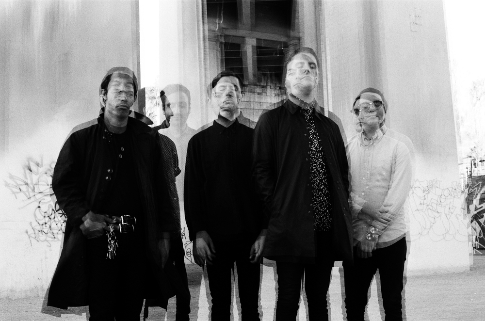 George Clarke (second from right) says that before Deafheaven began making its third album, New Bermuda,