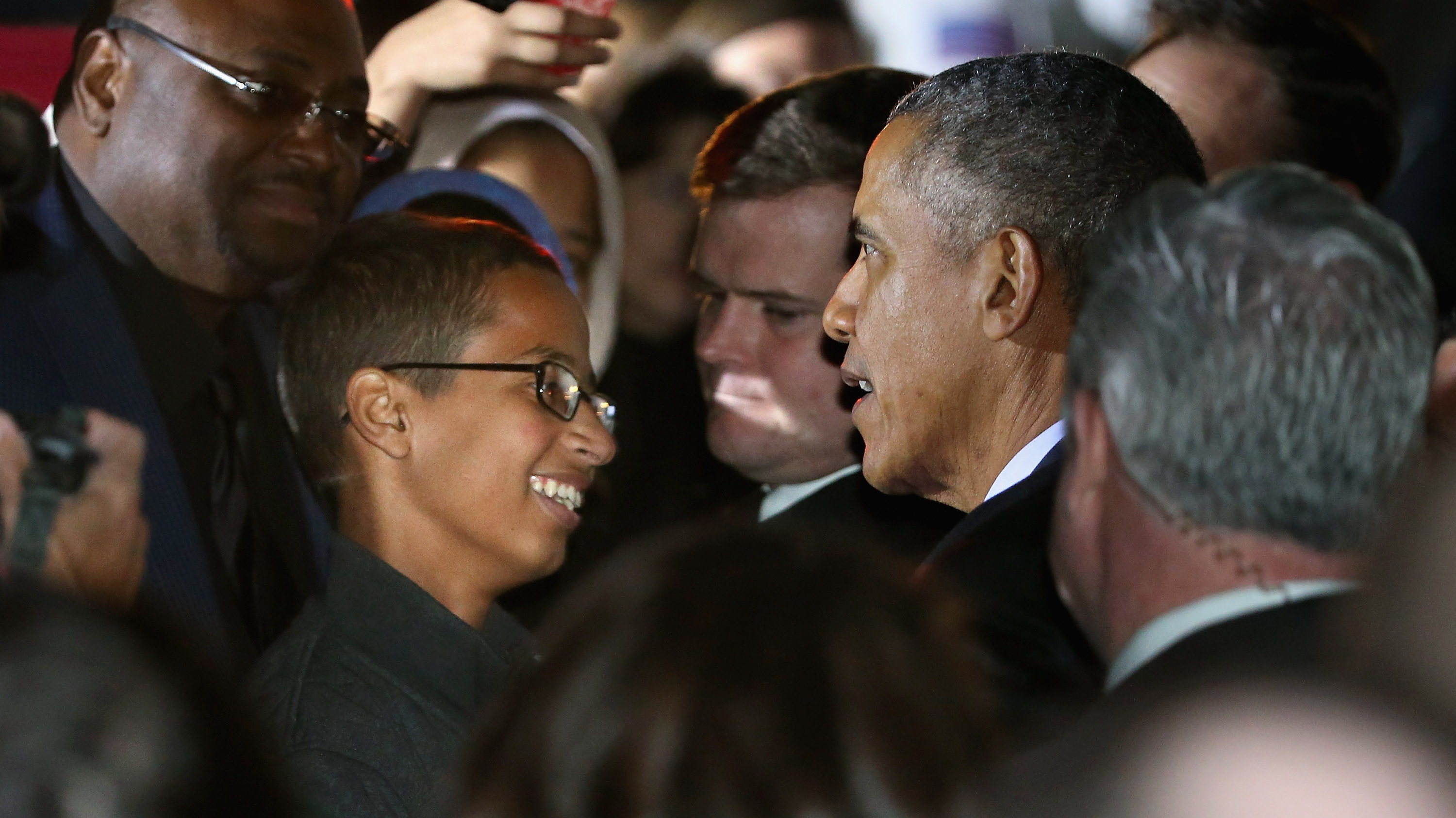Clock-Making Texas Teen Visits White House For Astronomy Night