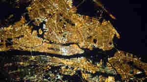 A view of greater New York City from the International Space Station.