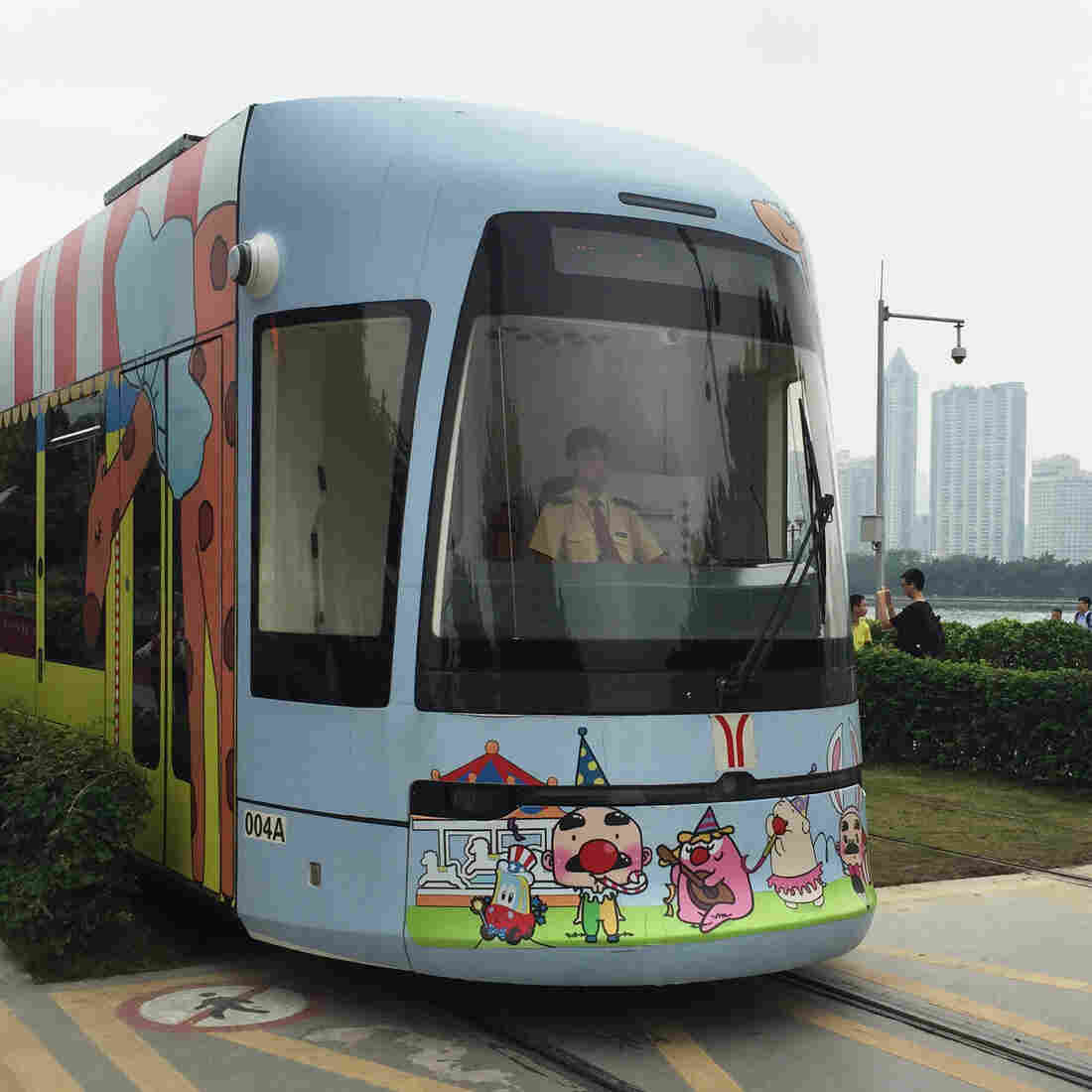 In D.C. And China, Two Approaches To A Streetcar Unconstrained By Wires