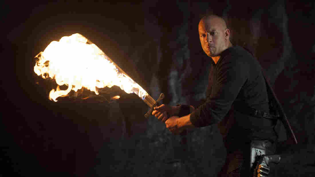 Vin Diesel as Kaulder in a scene from The Last Witch Hunter.
