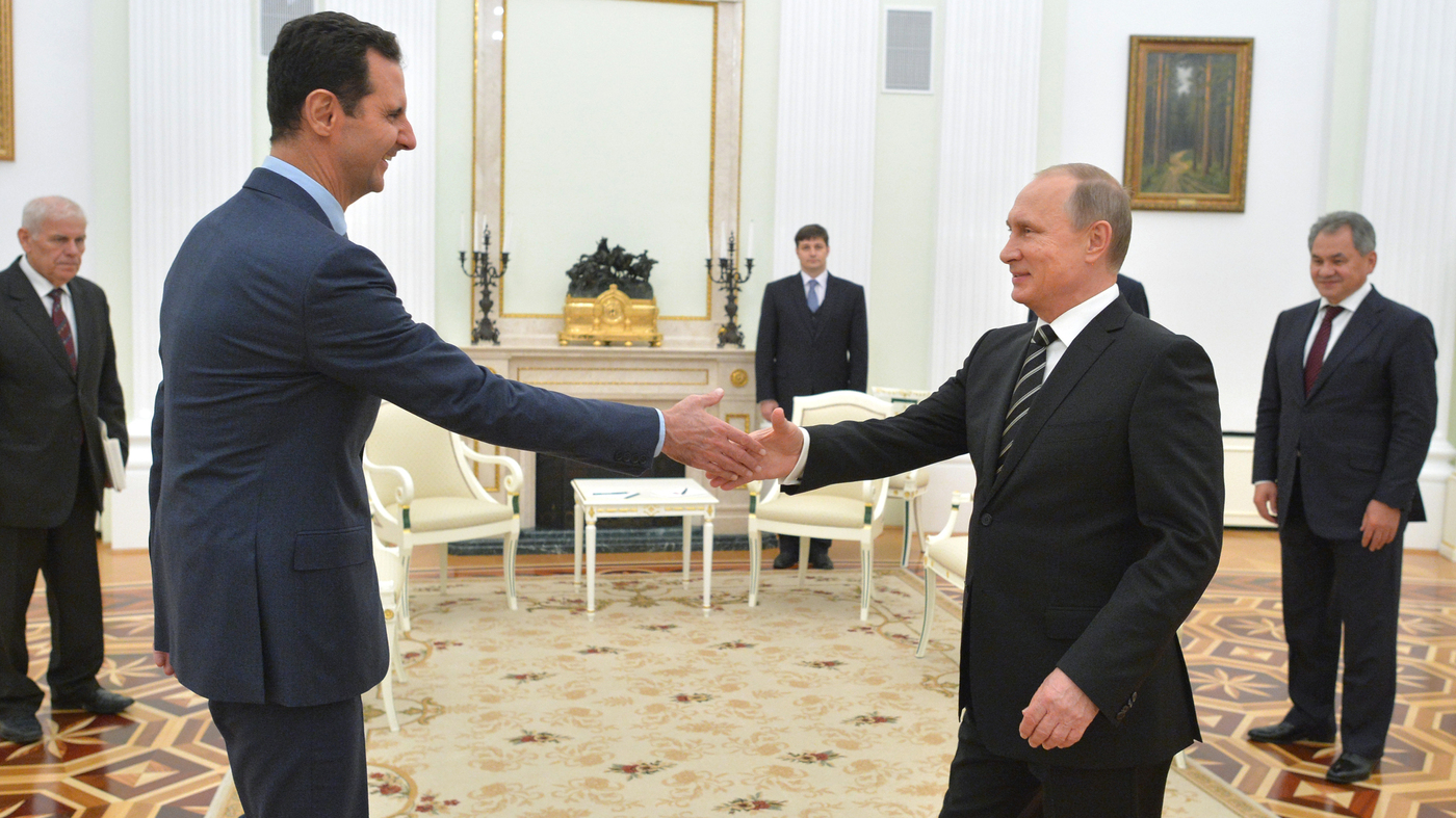 Syrian President Assad And Russia S Putin Meet In Moscow Npr