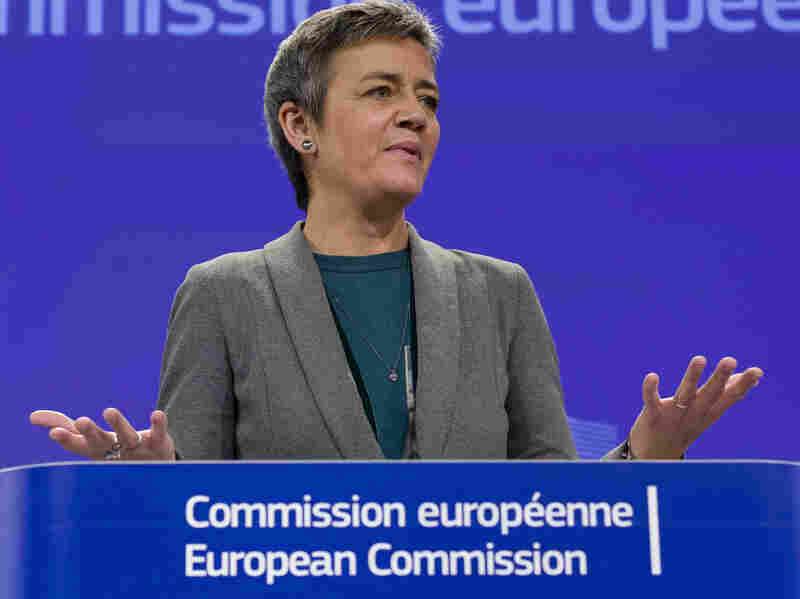 European Union Commissioner for Competition Margrethe Vestager says tax breaks give some companies an unfair advantage.