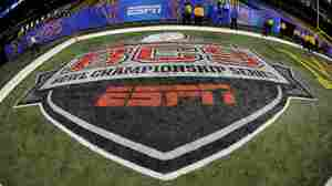 In addition to the NBA, NFL, MLB and major golf and tennis tournaments, ESPN also broadcasts some college football games, including certain Bowl Championship Series games.