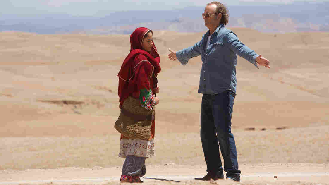 Richie Lanz (Bill Murray) is a passe rock manager who, while stranded in Kabul, discovers Salima Khan (Leem Lubany), a Pashtun teenager with a beautiful voice.