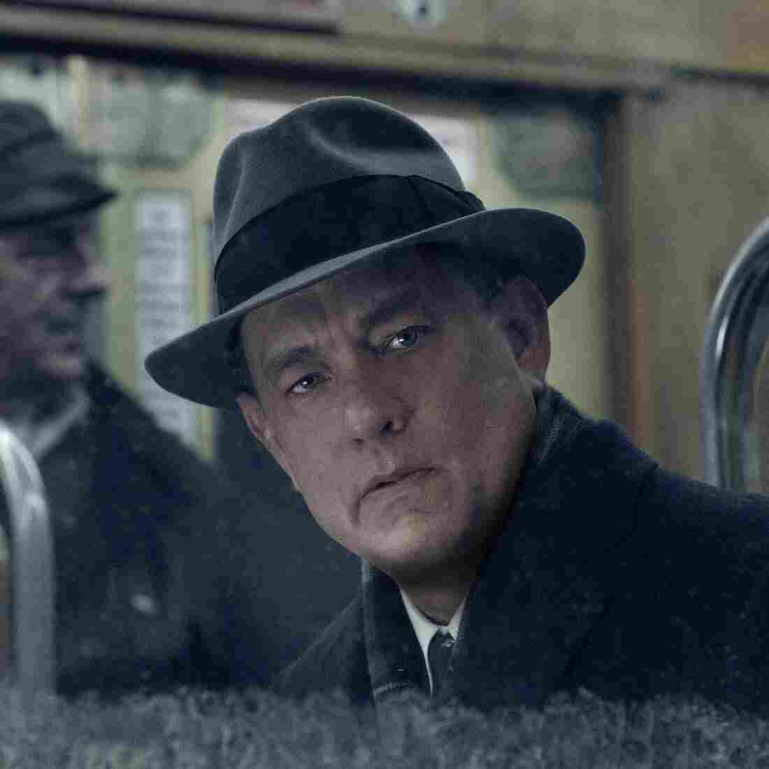 Tom Hanks as lawyer James Donovan in Bridge of Spies.