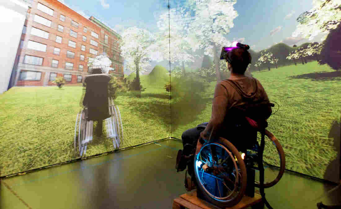 wheelchair virtual reality