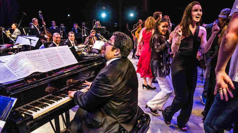 Arturo O'Farrill leads the Afro Latin Jazz Orchestra in concert.