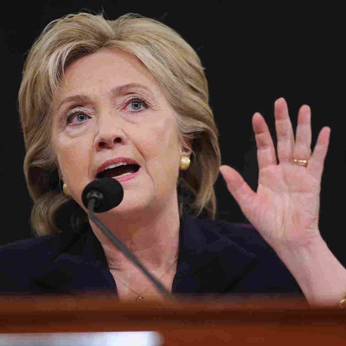 Live Blog: Partisan Sniping Flies As Clinton Testifies Before Benghazi Committee