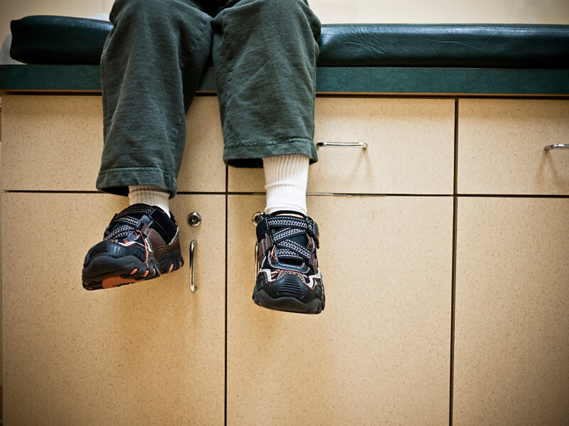 Kids and parents often shy away from talking about their struggles at the doctor's office. But the American Academy of Pediatrics is now urging its members to screen kids for food insecurity during well-child visits. (iStockphoto)