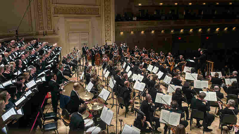Conductor Andris Nelsons led the Boston Symphony Orchestra and the Tanglewood Festival Chorus Thursday in Prokofiev's Alexander Nevsky at Carnegie Hall in New York.