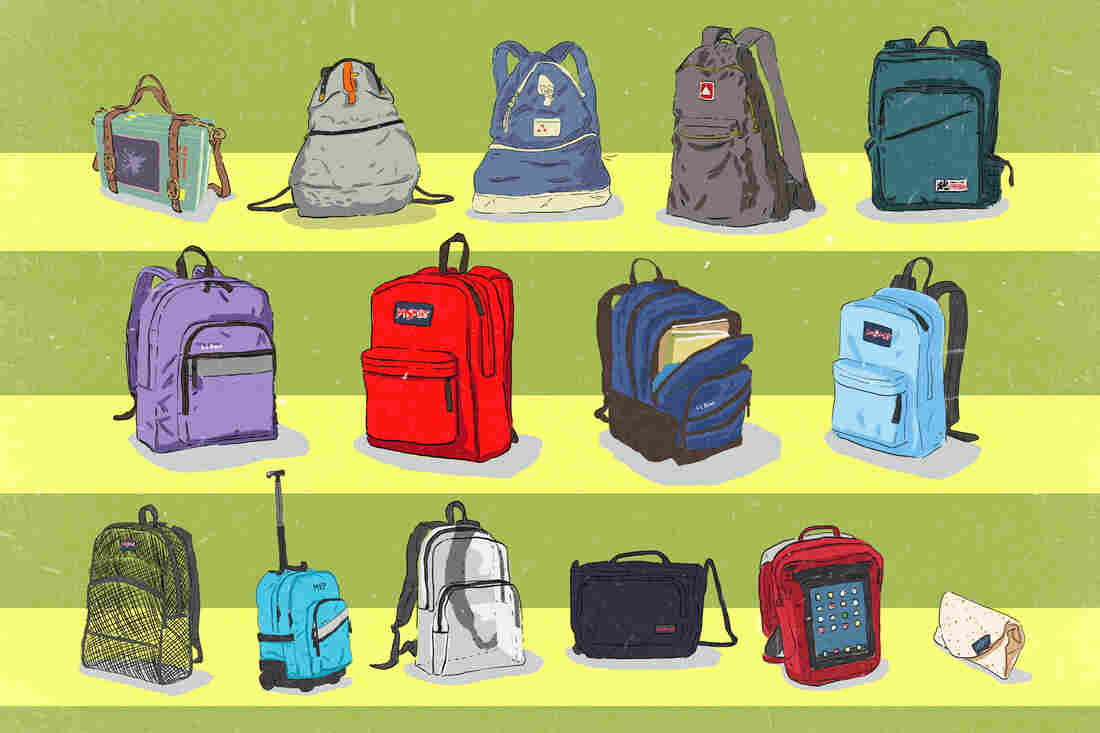 Book bags timeline