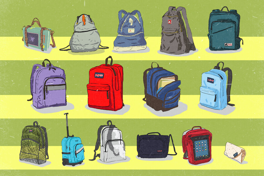From 'Book Strap' To 'Burrito': A History Of The School Backpack ...