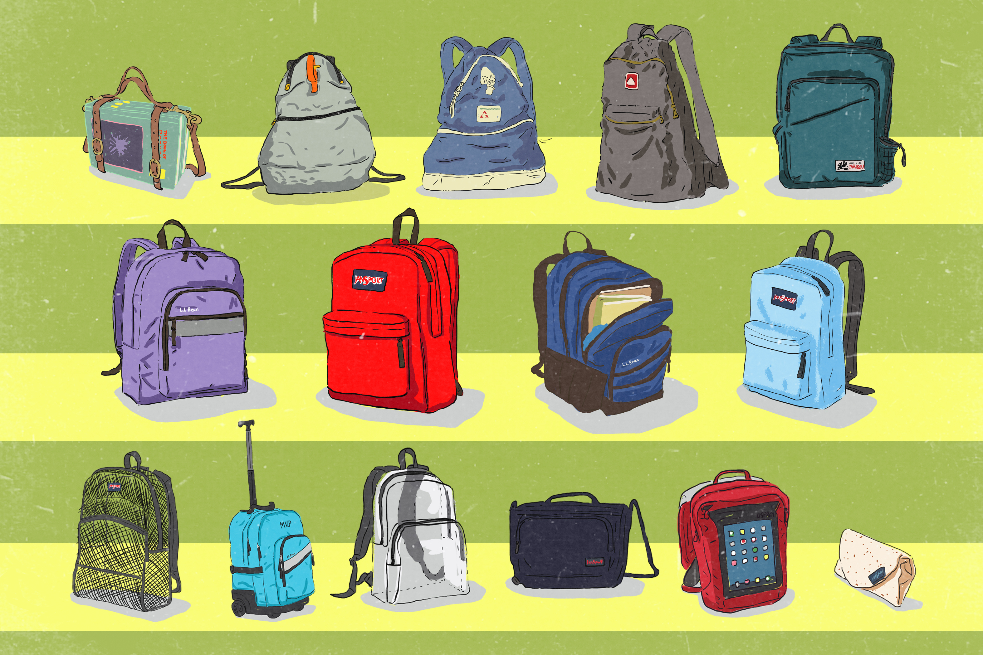 From 'Book Strap' To 'Burrito': A History Of The School Backpack