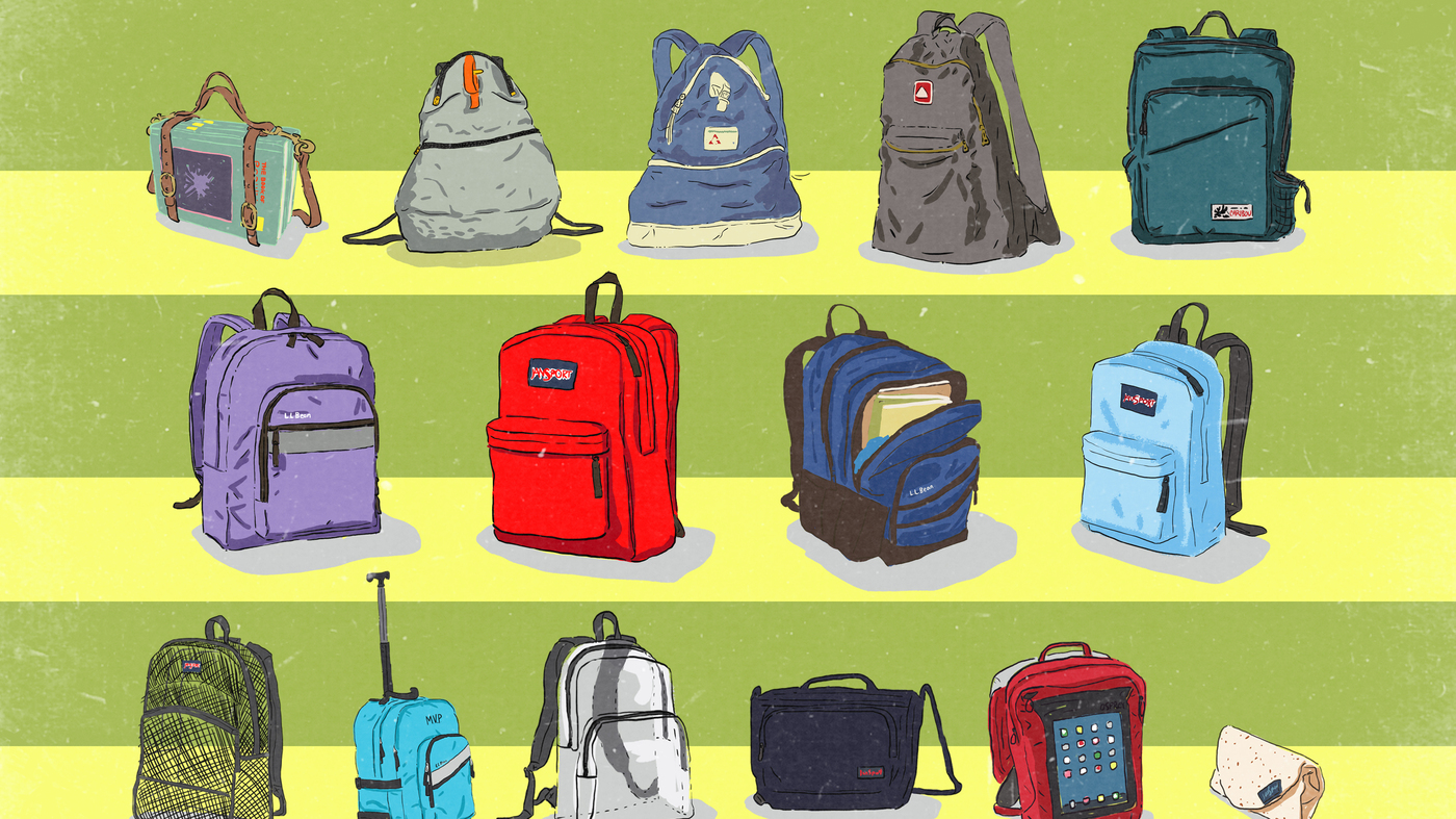 From Book Strap To Burrito A History Of The School Backpack