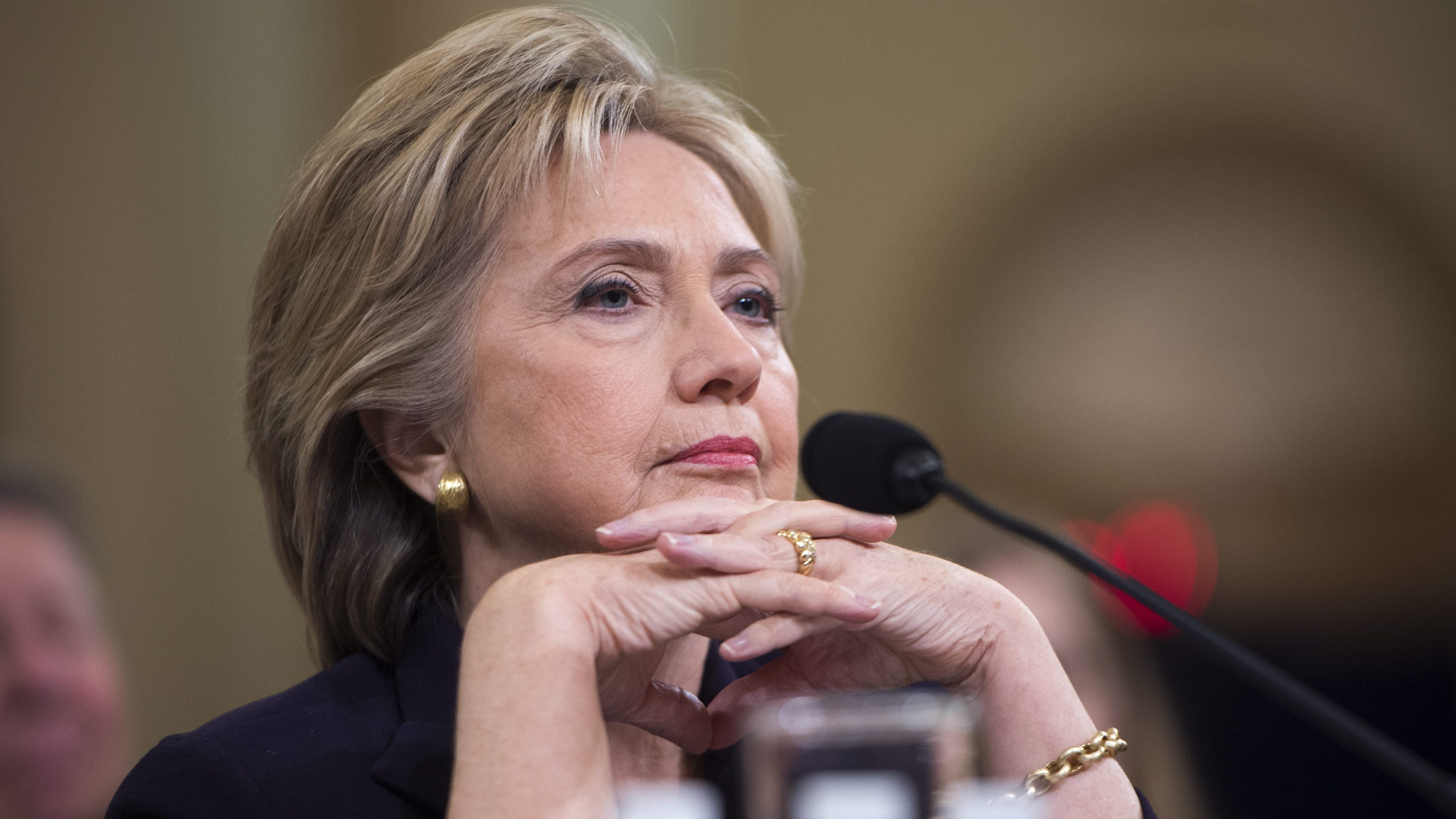 Omm ... Clinton Goes Zen, Tries Meditation To Get Through Epic Hearing