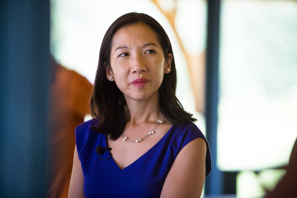 Dr. Leana Wen, Baltimore's health commissioner, is eager to see hospitals in the city pitch in on public health. (Meredith Rizzo/NPR)