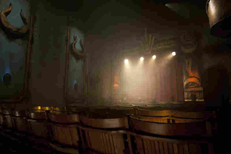 The theater at ScareHouse.