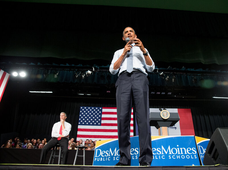 Obama Wants Students To Stop Taking Unnecessary Tests : NPR