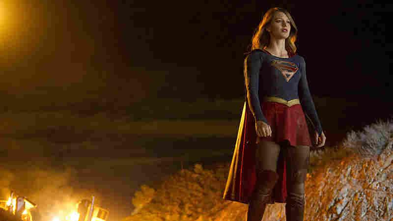 Melissa Benoist stars as Supergirl in the new CBS series.
