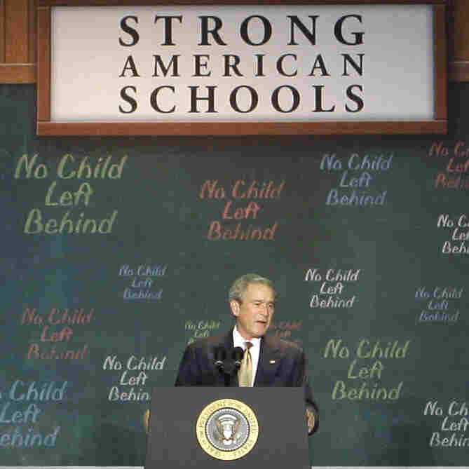 """The Elementary and Secondary Education Act hasn't been updated since it was renamed """"No Child Left Behind"""" in 2001 by President George W. Bush. The law was introduced by President Lyndon Johnson in 1965 to help states level the playing field for students living and learning in poverty."""