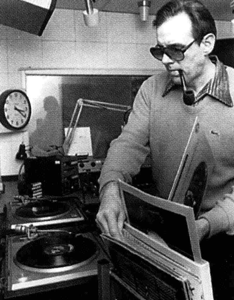 Walker, shown here in 1980, started his radio career by helping to launch American University's student station, WAMU AM, which went on to become WAMU 88.5.