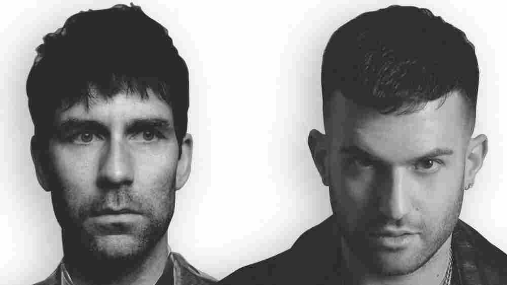 Jamie Lidell (left) is featured on a new single from A-Trak.