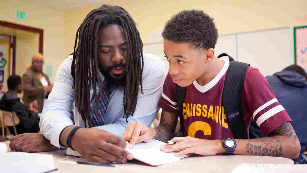 For At-Risk Kids, Mentors Provide Far More Than Just Homework Help