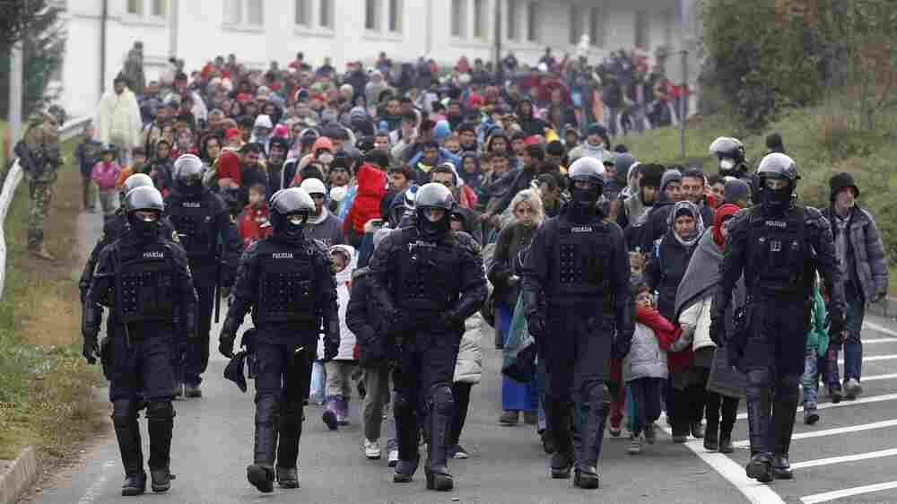 For Syrian Refugees, Old Frictions At Home Can Re-Emerge In Europe