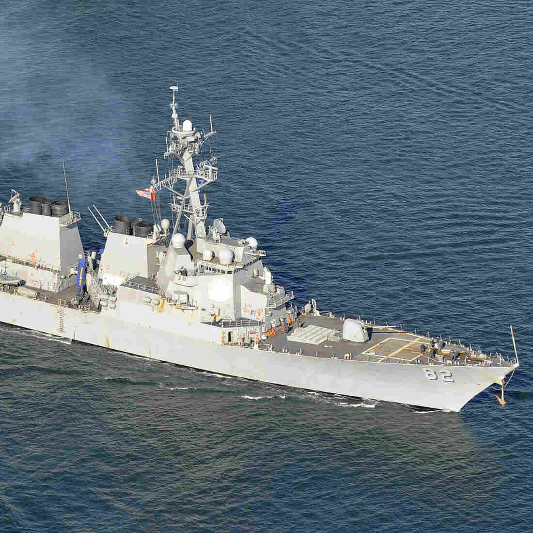 U.S. Destroyer Sails Near Disputed Islands In South China Sea