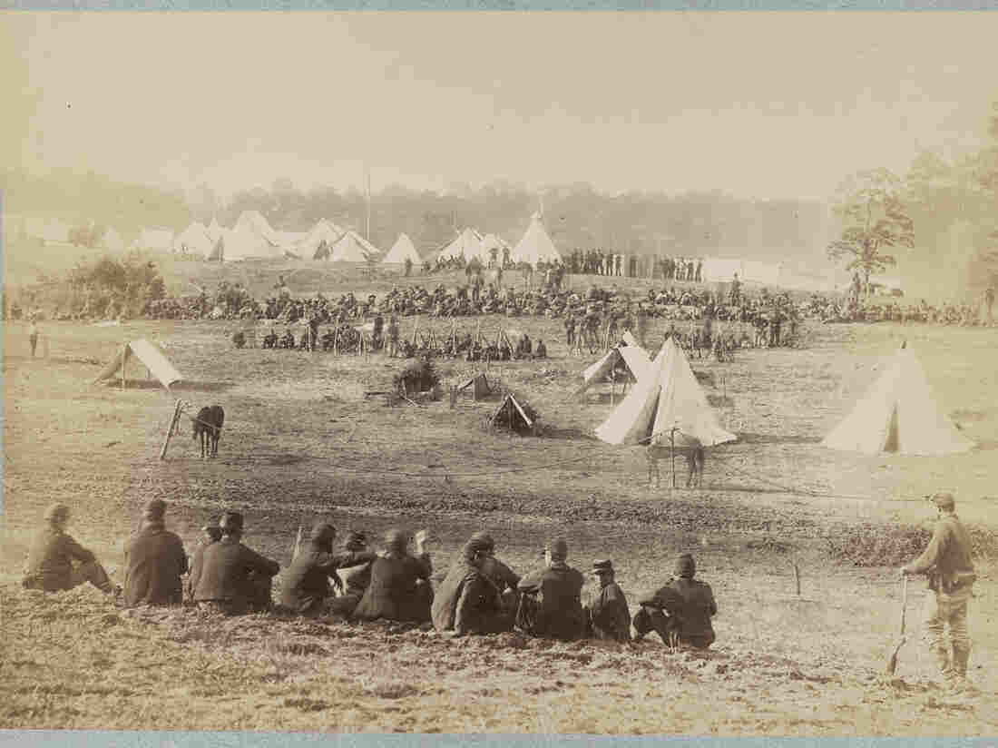 Prisoners from the Battle at Fisher's Hill, Va., 1864