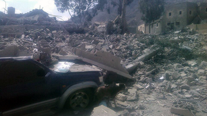 Doctors Without Borders Says Facility In Yemen Destroyed By Airstrikes
