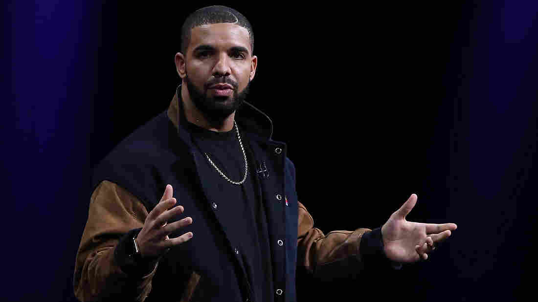 Recording artist Drake speaks about Apple Music during the Apple WWDC on June 8, 2015 in San Francisco, California.