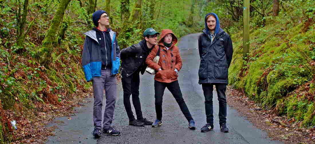 From left, Martha guitarists Daniel Ellis and Jc Cairns, bassist Naomi Griffin and drummer Nathan Stephens-Griffin.