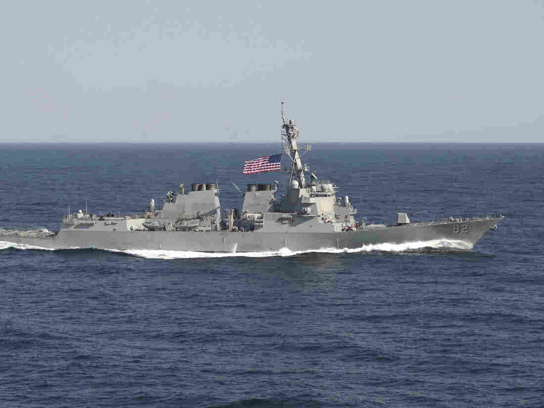The USS Lassen took part in a military exercise in waters east of the Korean Peninsula in March.