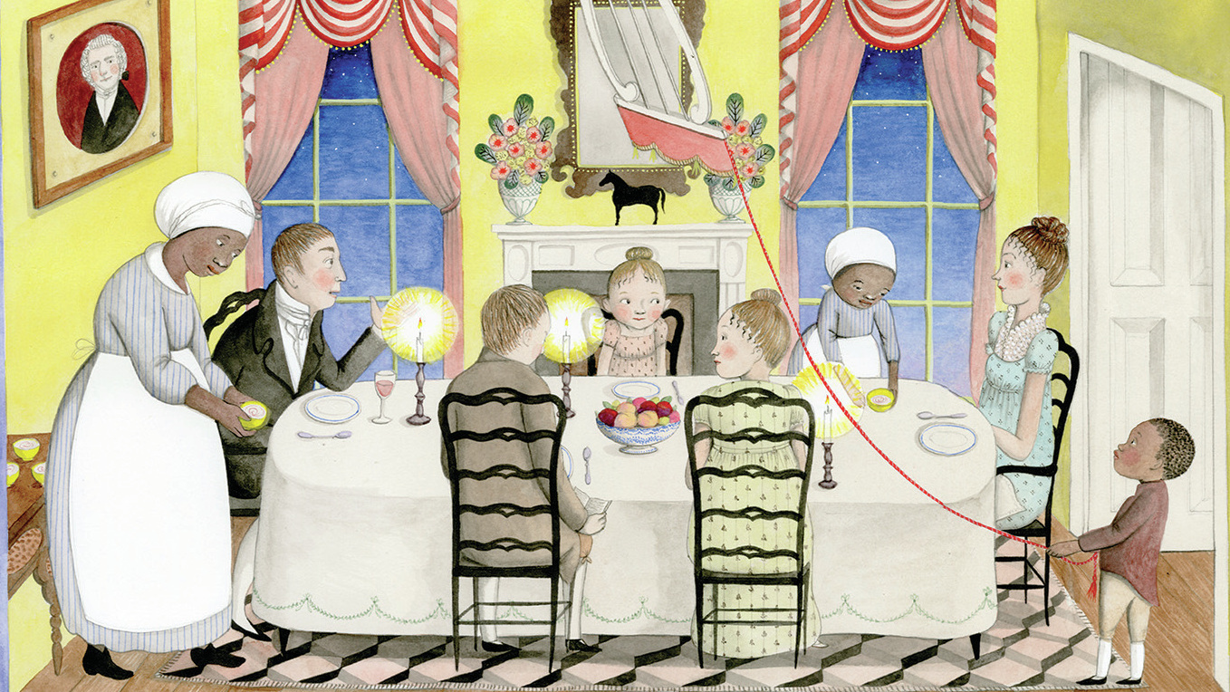 The Kids' Book 'A Fine Dessert' Has Award Buzz — And Charges Of Whitewashing Slavery