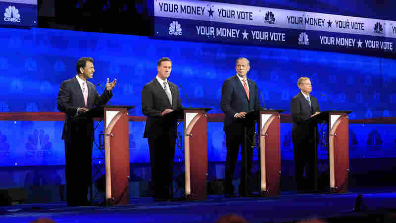 Four Republicans Battle For Attention At Undercard Debate