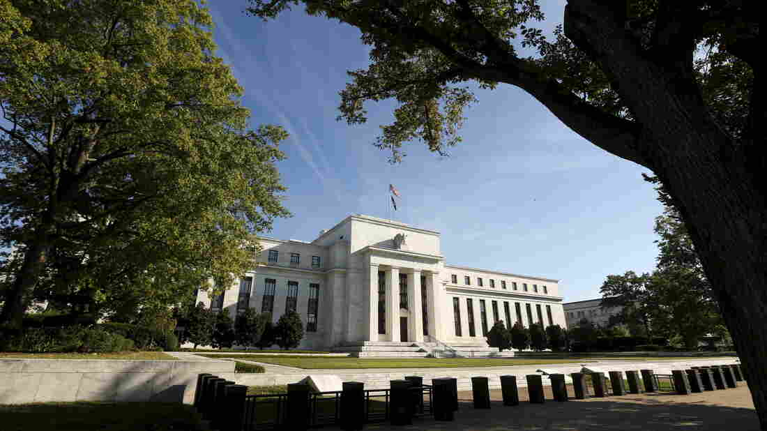 The Federal Reserve headquarters in Washington, D.C.