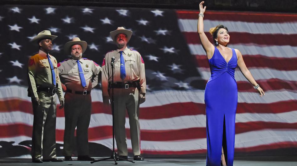 Ailyn Perez co-stars in Great Scott as Arden Scott's young rival, Tatyana Bakst. (Dallas Opera)