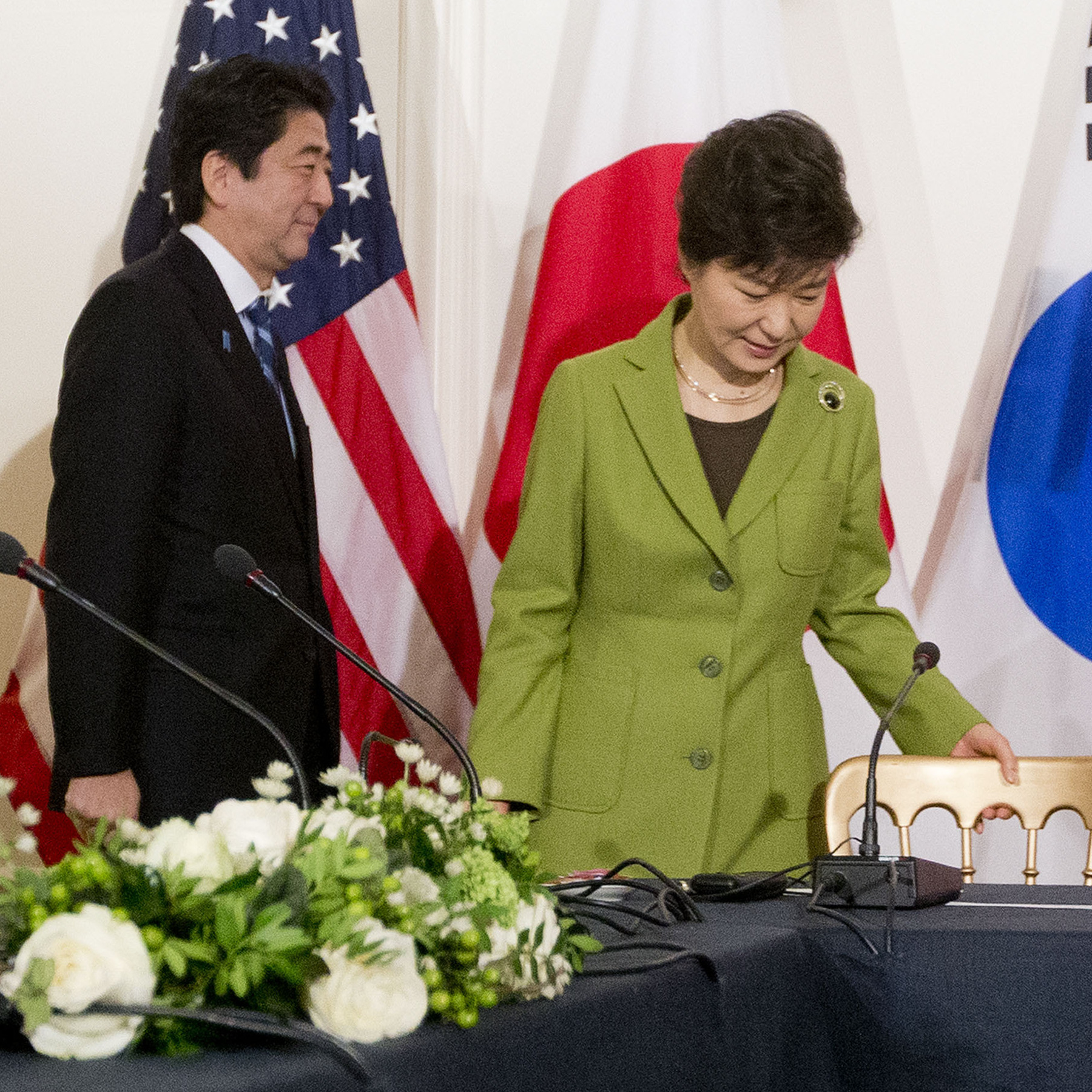 For China, Japan And S. Korea, Just Meeting Is An Accomplishment