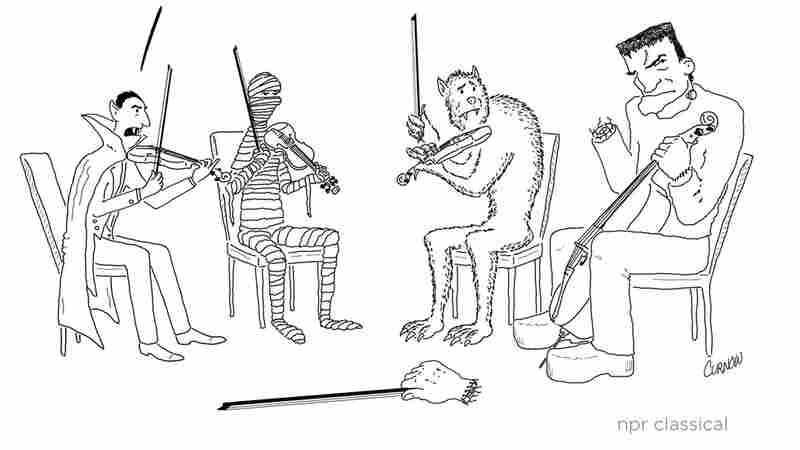 A Teasing Trumpeter: Jeffrey Curnow's Cartoons