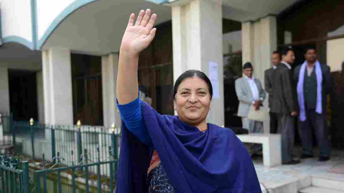 Bidhya Devi Bhandari, 54, is only the second person to be elected president since Nepal abolished its monarchy in 2008.