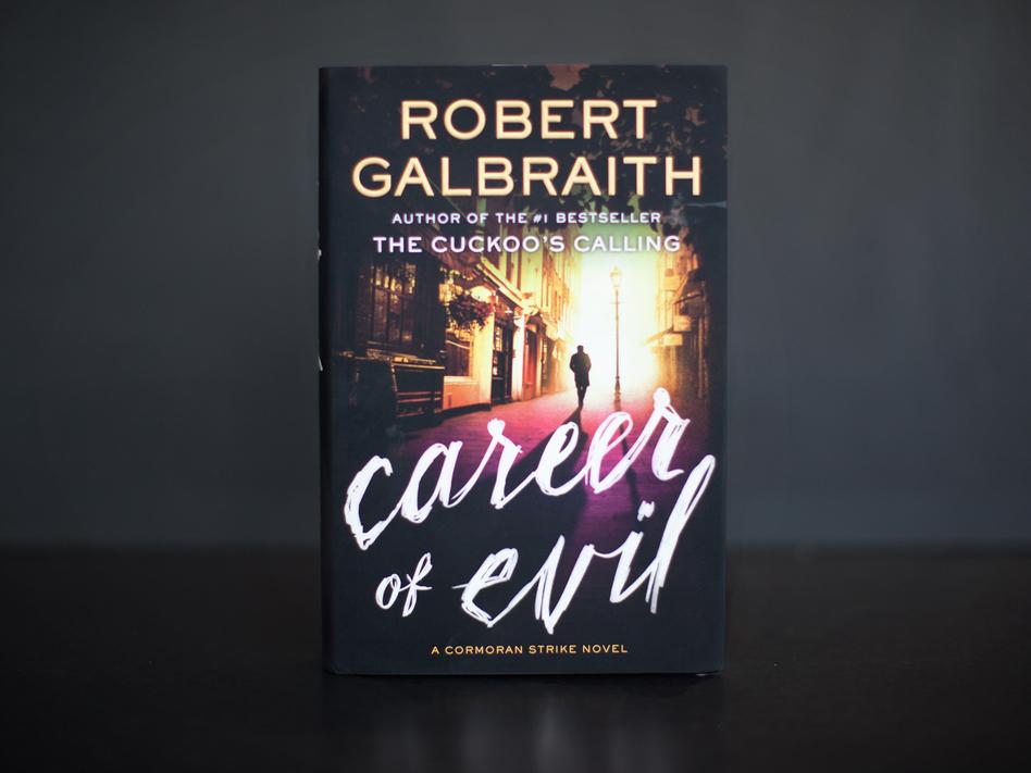 <em>Career of Evil</em>, by Robert Galbraith. (Jun Tsuboike/NPR)