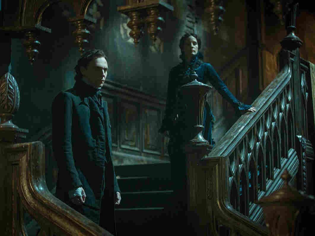 A still image from Guillermo del Toro's new movie, Crimson Peak. Twenty-two percent of audiences on any given weekend are Latino. But when it comes to horror films, that proportion jumps to as much as half the box office.