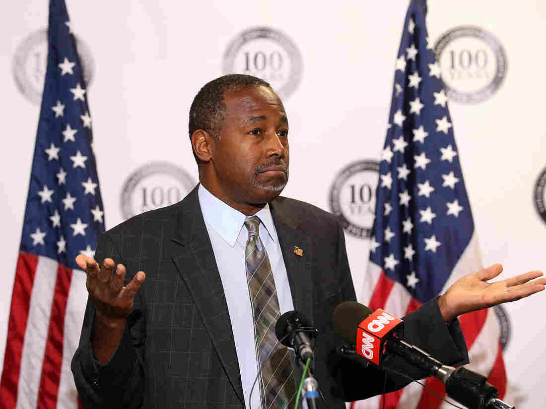 Ben Carson — and his fellow candidates — are slashing tax revenues. Do we know how they'll pay for them?