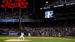Noah Syndergaard of the New York Mets pitched Friday night against the Kansas City Royals during Game Three of the World Series in the Queens borough of New York City.