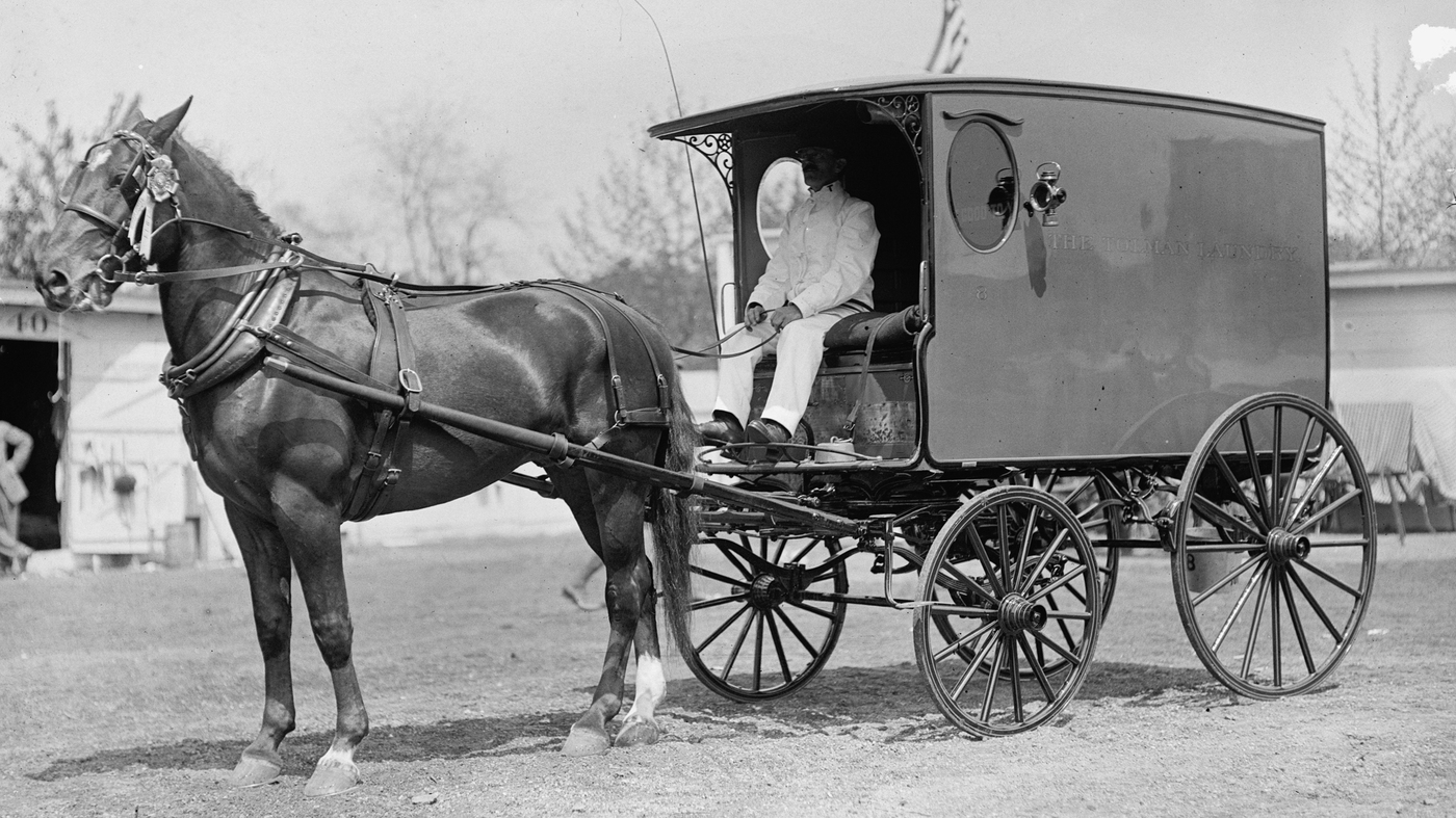 Halloweens past wacky pranks with wagons npr history for Chaise carriage