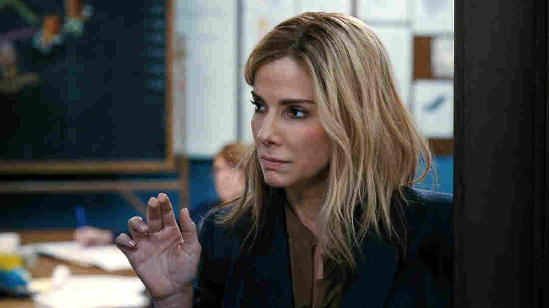 Sandra Bullock stars as Jane in the satirical film Our Brand Is Crisis.