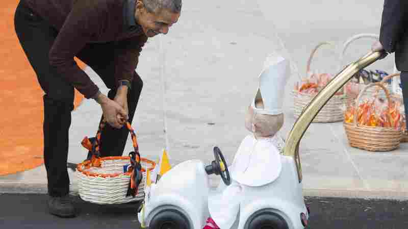 Trick-or-Treating With Princesses, Superheroes And The Pope